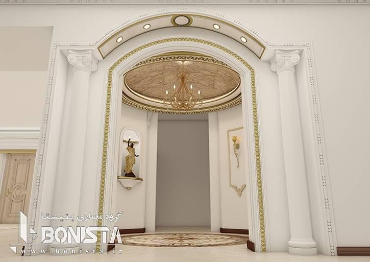 طراحی داخلی ساختمان مسکونی امپریال - گروه معماری بنیستا