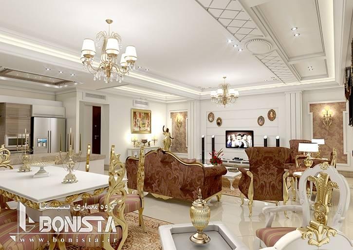 طراحی داخلی ساختمان مسکونی اهورا ، کاشانک توسط گروه معماری و طراحی داخلی بنیستا